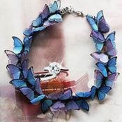 """Украшения ручной работы. Ярмарка Мастеров - ручная работа Колье """"Twilight butterfly """"mini. Handmade."""