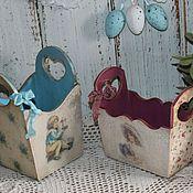 Для дома и интерьера ручной работы. Ярмарка Мастеров - ручная работа Корзиночки. Handmade.