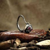 Украшения ручной работы. Ярмарка Мастеров - ручная работа Кольцо с рубинами. Handmade.