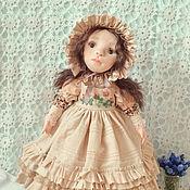 Куклы и игрушки handmade. Livemaster - original item Textile doll Marusya. Handmade.