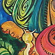 Абстракция ручной работы. Гламуррррные улитки..;) смешанная техника. (авторская работа). Ирина и Наталья (MileevArt). Интернет-магазин Ярмарка Мастеров.