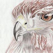 Картины и панно handmade. Livemaster - original item eagle. Handmade.
