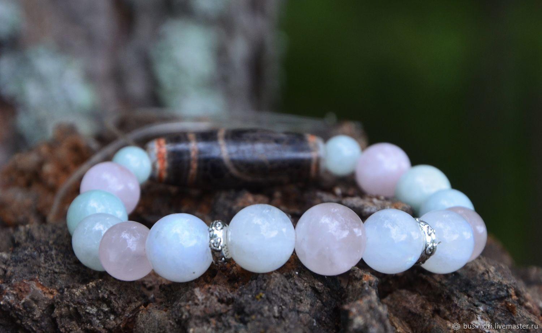bracelet: Treasure of Love - bracelet Dzi eye 2, Nepal. Silver, Bead bracelet, Pereslavl-Zalesskij,  Фото №1