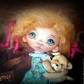 Куклы и игрушки ручной работы. Ярмарка Мастеров - ручная работа Возьмем его к себе?... Текстильная кукла. Handmade.