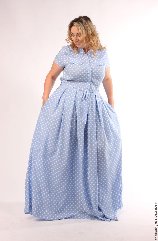 25abfe2cd9e Большие размеры ручной работы. Ярмарка Мастеров - ручная работа. Купить  Платье. Handmade.