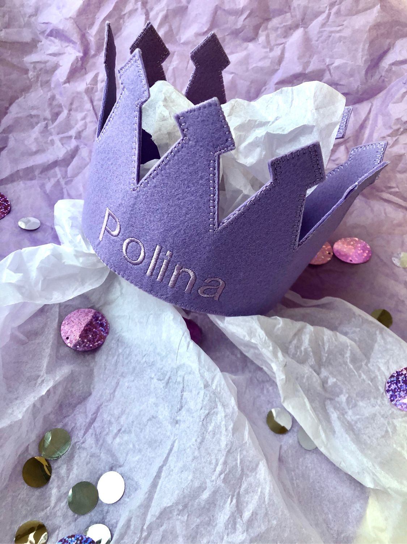 Корона с именем, Ободки и повязки на голову, Москва,  Фото №1