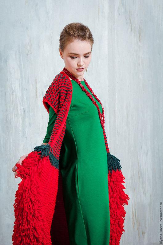 Жилеты ручной работы. Ярмарка Мастеров - ручная работа. Купить Пальто – жилетка ручная работа арт1607V02. Handmade.