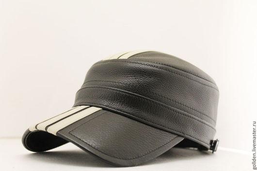 Для мужчин, ручной работы. Ярмарка Мастеров - ручная работа. Купить Комбат 0315 Sport  из натуральной кожи. Handmade. Бейсболка