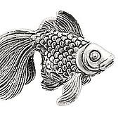 Для дома и интерьера ручной работы. Ярмарка Мастеров - ручная работа Статуэтка Рыбка. Handmade.