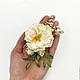 Свадебные украшения ручной работы. Цветы для прически  из полимерной глины. Юлия Шепелева Lovely Flowers Lab. Ярмарка Мастеров. Чайная