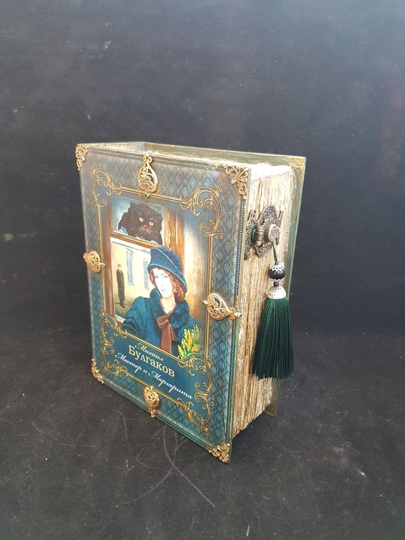 Box-book ,,Master and Margarita,, Box, Riga,  Фото №1