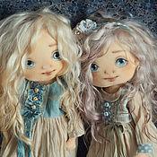 Куклы и игрушки ручной работы. Ярмарка Мастеров - ручная работа милые сестрички. Handmade.