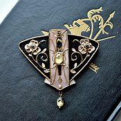 Brooches handmade. Livemaster - original item brooch