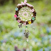 """Фен-шуй и эзотерика ручной работы. Ярмарка Мастеров - ручная работа Ловец снов """"Fairy rose"""". Handmade."""