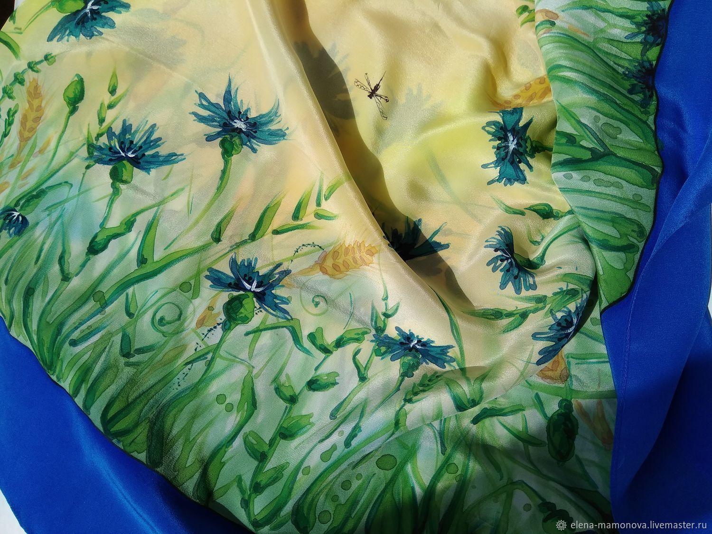 шелковые платки на вайлдберриз