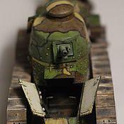 Техника, роботы, транспорт ручной работы. Ярмарка Мастеров - ручная работа Танк Renault FT modèle 1917. Handmade.