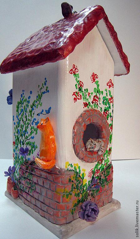 """Кухня ручной работы. Ярмарка Мастеров - ручная работа. Купить Чайный домик - """"Весеннее настроение"""". Handmade. Чайный домик"""