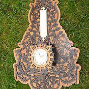 Для дома и интерьера ручной работы. Ярмарка Мастеров - ручная работа Часы настенные с борометром. Handmade.