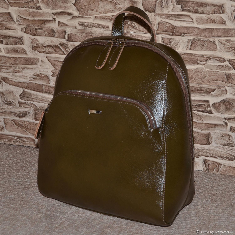 Backpack genuine leather. Model No. 15, Backpacks, Bogorodsk,  Фото №1