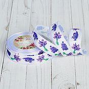 Материалы для творчества handmade. Livemaster - original item Ribbon reps Lavender. Handmade.