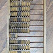Винтаж handmade. Livemaster - original item a wooden abacus USSR. Handmade.