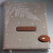 Канцелярские товары handmade. Livemaster - original item Notepad winter. Handmade.