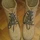 Обувь ручной работы. Заказать Ботинки мужские валяные. Шерстинка (okravchuk). Ярмарка Мастеров. Валенки для улицы, валенки мужские