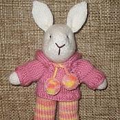 Куклы и игрушки ручной работы. Ярмарка Мастеров - ручная работа Вязаный зайчик. Handmade.