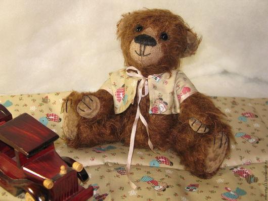 Мишки Тедди ручной работы. Ярмарка Мастеров - ручная работа. Купить Потапчик. Handmade. Коричневый, мишка тедди, мохер