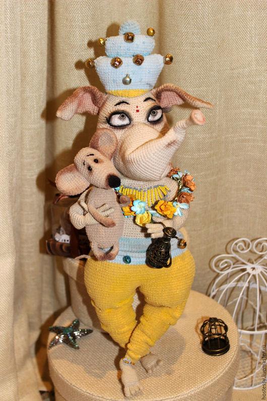 Обучающие материалы ручной работы. Ярмарка Мастеров - ручная работа. Купить Мастер-класс слоник Зита + мышка Гита. Handmade.
