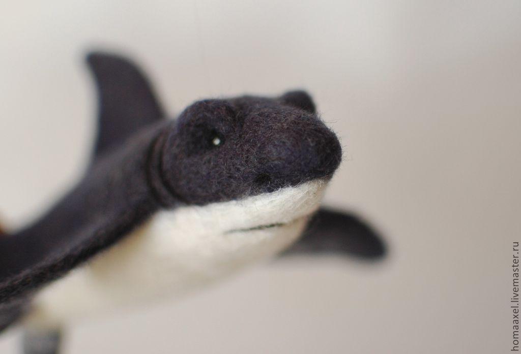 Felt toy Shark, Felted Toy, Heidelberg,  Фото №1
