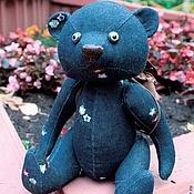 Куклы и игрушки ручной работы. Ярмарка Мастеров - ручная работа Мишка Джинс. Handmade.