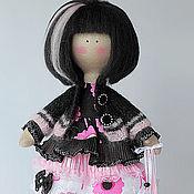 Куклы и игрушки ручной работы. Ярмарка Мастеров - ручная работа Кукла текстильная. Большеногая девочка. Микки & Маусита. Handmade.