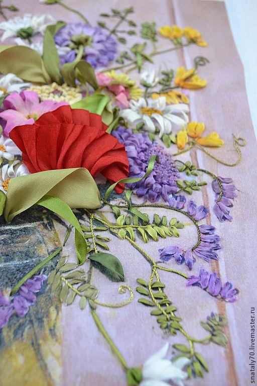 В Рузе начала работу студия вышивки шелковыми лентами Сайт города Руза