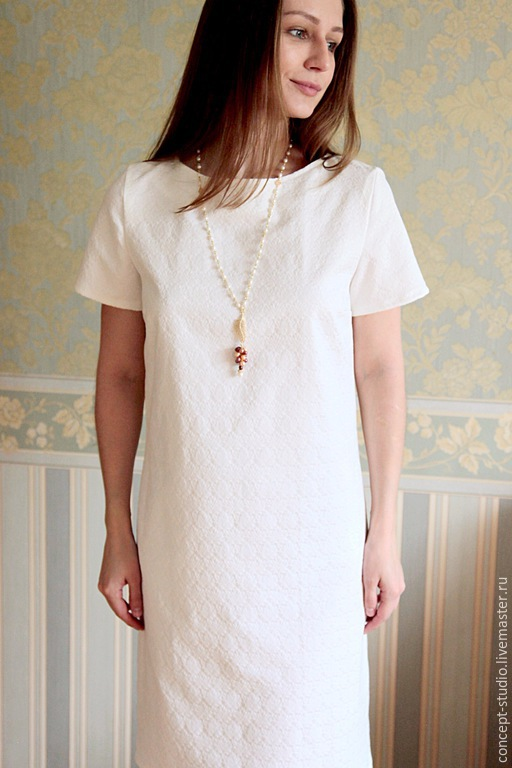 Платье белое с доставкой
