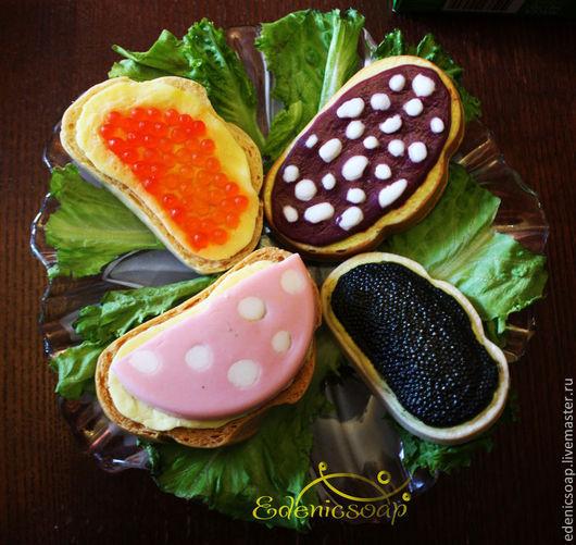 Мыльные бутерброды. Подарки к праздникам