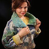 Одежда ручной работы. Ярмарка Мастеров - ручная работа Валяная куртка. Синема.. Handmade.
