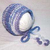 Работы для детей, ручной работы. Ярмарка Мастеров - ручная работа шапочка для фотосессии новорожденных. Шапочка для новорожденного. Handmade.