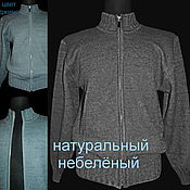 Одежда handmade. Livemaster - original item Made of linen.Men`s Flake jacket with elastic band 3 to 3. Handmade.