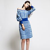 Одежда handmade. Livemaster - original item Melange dress. Handmade.