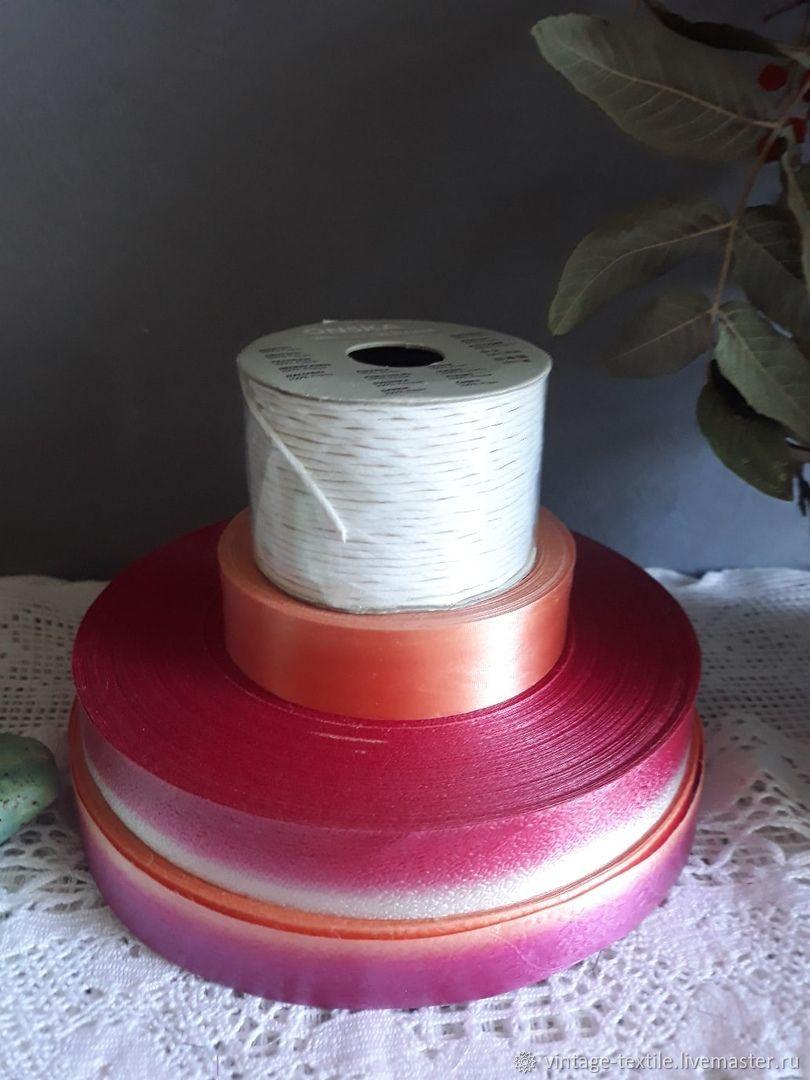 Декоративная упаковочная лента для оформления, подарков - 4 шт, Упаковочная бумага, Краснодар,  Фото №1
