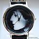 Часы ручной работы. Ярмарка Мастеров - ручная работа. Купить Часы наручные JK А.А. Ахматова. Handmade.