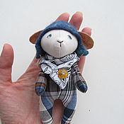 Куклы и игрушки ручной работы. Ярмарка Мастеров - ручная работа Игрушка зимний барашек. Handmade.