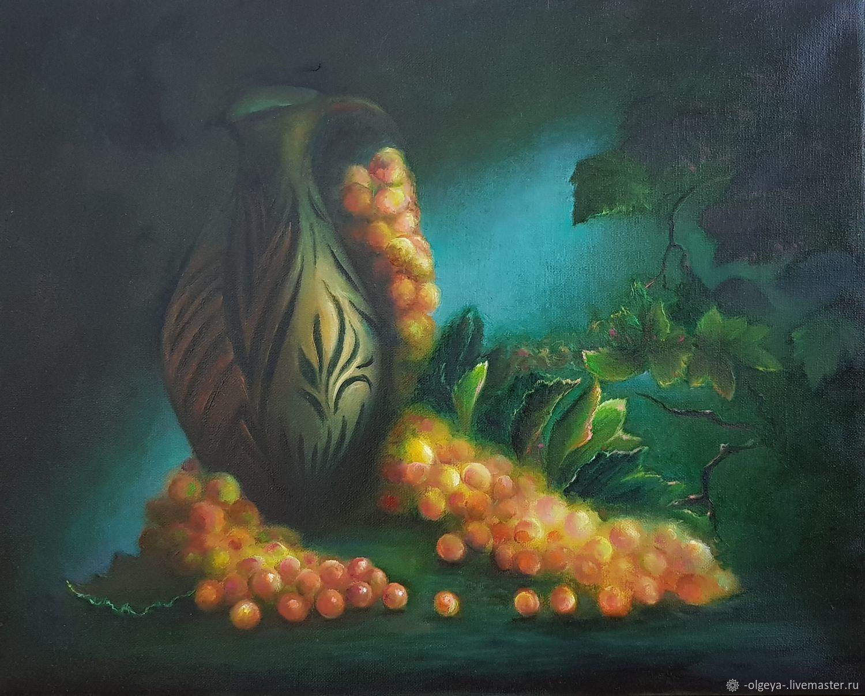 Картина маслом Натюрморт с кувшином, Картины, Ревда,  Фото №1