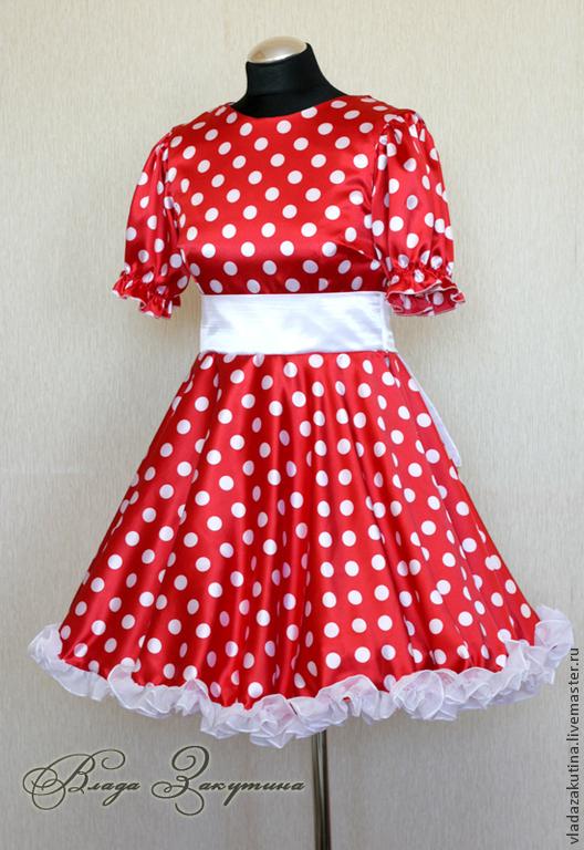 Фото платья минни маус