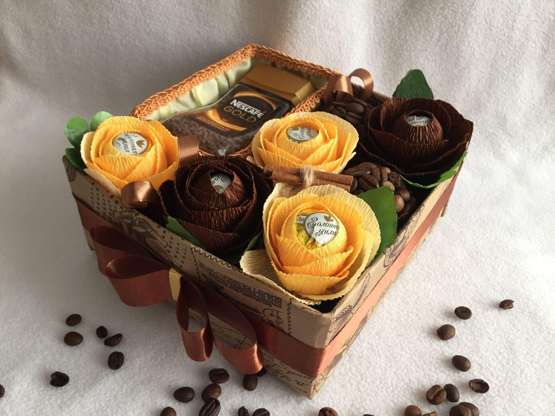 Красиво оформить подарок из конфет 57