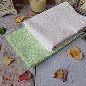 Ткани ручной работы. Ярмарка Мастеров - ручная работа Ткань хлопок полянка. Handmade.