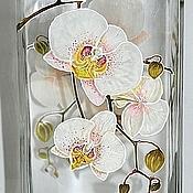 """Для дома и интерьера ручной работы. Ярмарка Мастеров - ручная работа Ваза """"Орхидеи"""". Handmade."""