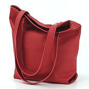 "Сумки и аксессуары handmade. Livemaster - original item Copy of ""2M-Zip"" hobo, leather handbag bag tablet. Handmade."