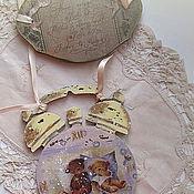 """Для дома и интерьера ручной работы. Ярмарка Мастеров - ручная работа Винтажное панно """"Ассоциации"""". Handmade."""